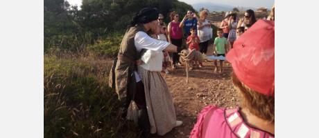 Visita teatralizada en Vinaròs