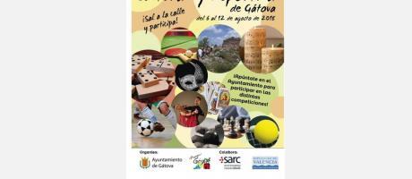 semana cultural y deportiva de Gátova