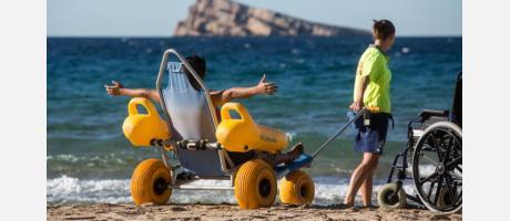 Benidorm buscar ser Destino Turístico Accesible
