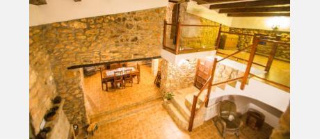 Interior de Les Garroferes