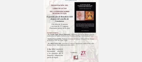 Presentación del libro de actas del II simposio