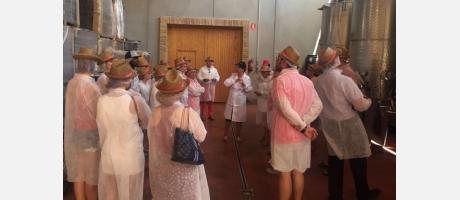 Visita a una bodega de Alicante