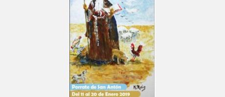 Programación Porrate de San Antón Alicante 2019