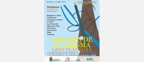 """IX Jornadas Gastronómicas """"Sabores de Cuaresma"""""""