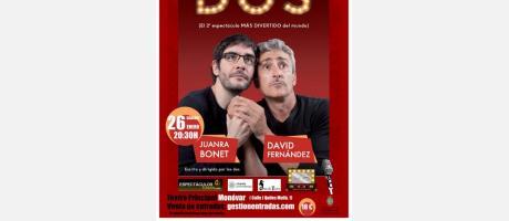 Cartel del espectáculo DOS