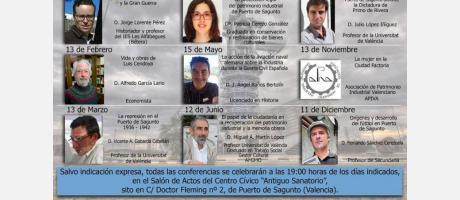 Primer Ciclo de Conferencias de Patrimonio Industrial 2019