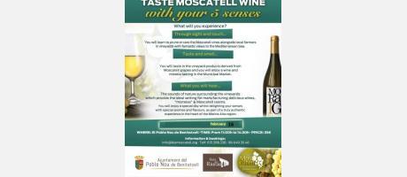 Moscatel wine with your 5 senses (feb 2019) EPNDB