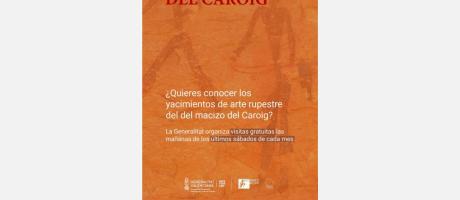 Visitas guiadas gratuitas a los yacimientos de Arte Rupestre del Macizo del Caro