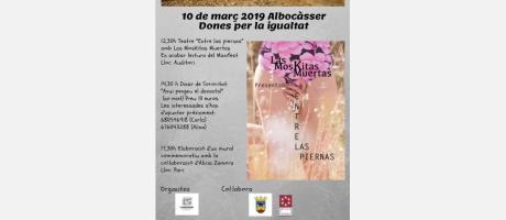 10 de març 2019 Albocàsser Dones per la igualtat