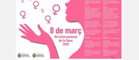 cartel día de la mujer