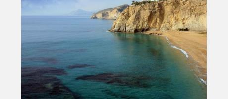 Playa esperelló Villajoyosa