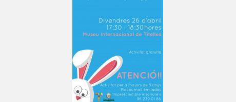 I Escape Rabbit del Museo Internacional de Títeres de Albaida