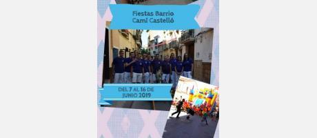 Fiestas barrio camí Castelló