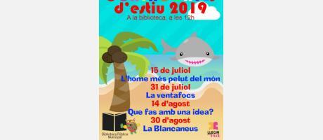 Cuentacuentos de verano 2019 EPNDB