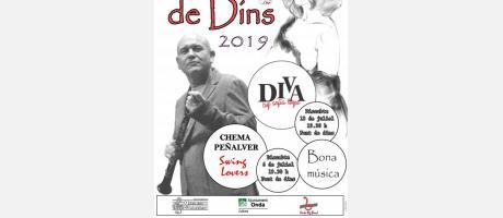 Cartel Jazz de Dins