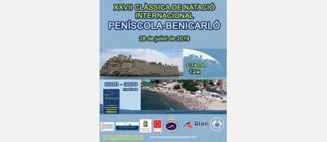 V Copa de España de aguas abiertas Peñíscola - Benicarló 28 de julio 2019