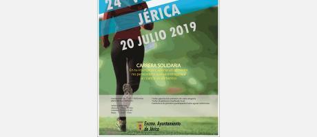 VUELTA A PIE - JÉRICA 20 JULIO 2019  CARRERA SOLIDARIA