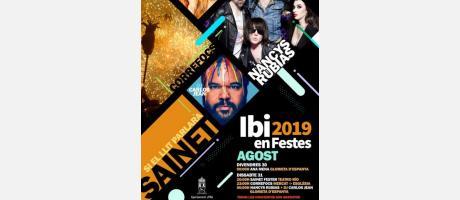 Conciertos Fiestas Ibi 2019