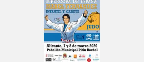 Cartel Supercopa de España de judo