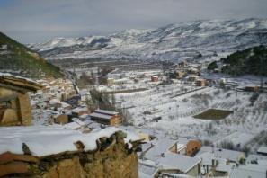 Rincón de Ademuz con nieve