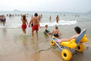 Playa Accesible Benidorm