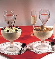 Helado de turrón (Nougat ice cream)