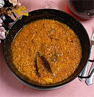 Arroz Caldoso con Bogavante (Rice with lobster)