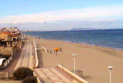 Imagen de la playa de Piles