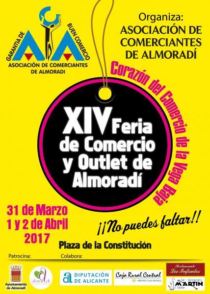 CARTEL FERIA DE COMERCIO Y OUTLET ABRIL 2017