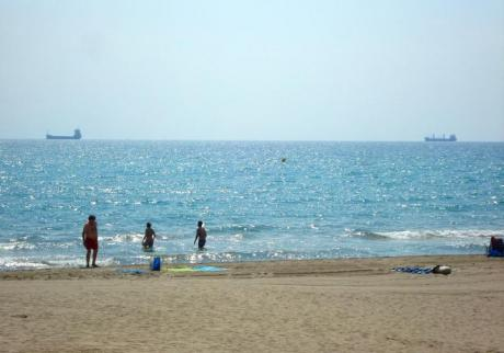 Playa de Heliópolis en Benicàssim