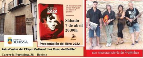"""Presentación libro """"2222"""""""