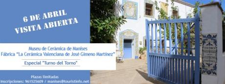 Visita Abierta 6 de abril - La Cerámica Valenciana de José Gimeno