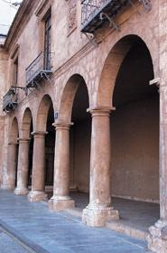 Foto: Antigua casa de la Vila en Alcoy