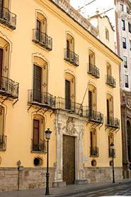 Img 1: Palacio del Marqués de Huarte o de Peñalba. Sede del Banco Urquijo