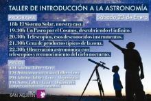 La Finca San Agustín, con la luna llena y con la vista al cometa C/2013 US10