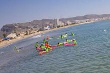 Surfing in Cullera with Posidonia