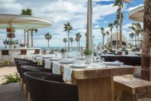 Marina Beach, the fashionable space in Valencia