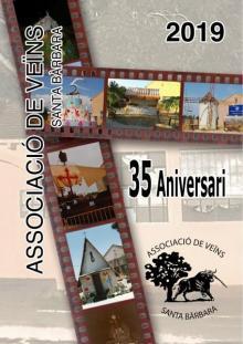 cartel fiestas de Santa Bàrbara en Borriana