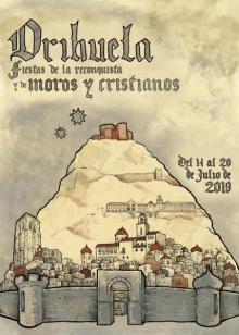 Cartel Fiestas de la Reconquista y de Moros y Cristianos de Orihuela 2019