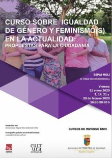Curso: Igualdad de género y feminismo(s) EPNDB