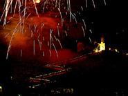 Große Feste Zu Ehren Der Jungfrau Der Burg Von Cullera