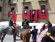 Fiesta de Moros y Cristianos en honor de San Hipólito