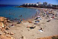 Playa La Zenia (Cala Cerrada)