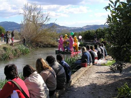Descenso del río Bullent en Pego