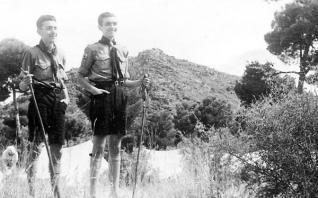 Siempre listos. 100 años de movimiento Scout en Valencia en el Monasterio de San Miguel de los Reyes de Valencia