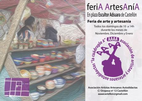 Mercado de arte y artesanía