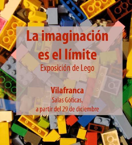 """""""La imaginación es el límite"""": Exposición de Lego en Vilafranca."""