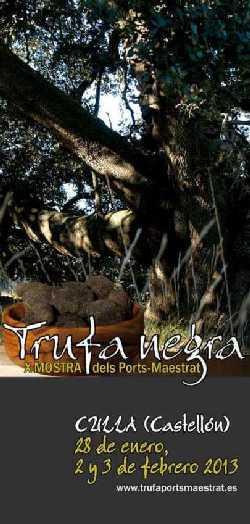 X Muestra de la Trufa Negra dels Ports-Maestrat.