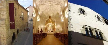 Visitas guiadas al Museo de la Piedra en Seco, la Iglesia parroquial y el Ayuntamiento de Vilafranca.