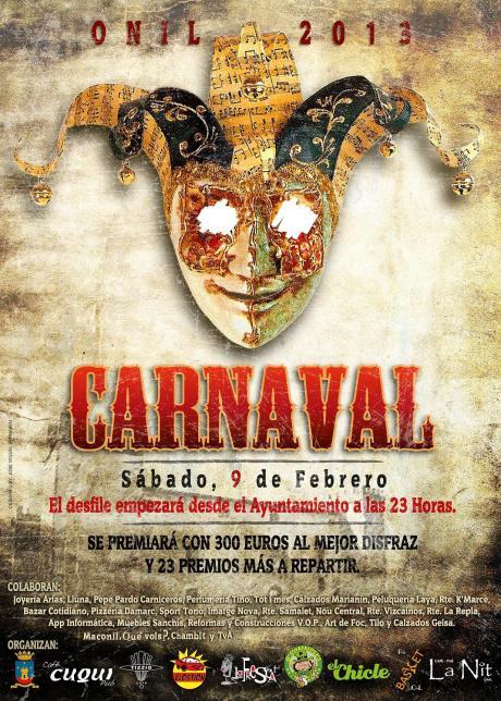Carnaval Onil 2013